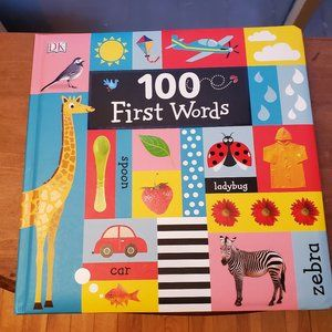 100 First Words Board Picture Book, Educational